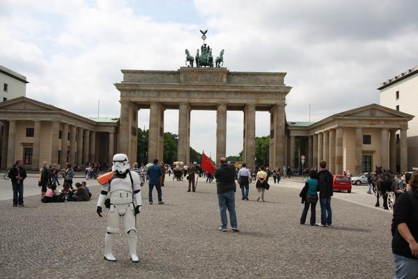Brandenburg Tor Stormtrooper